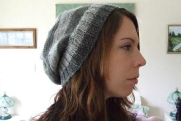 My slouchy hat.