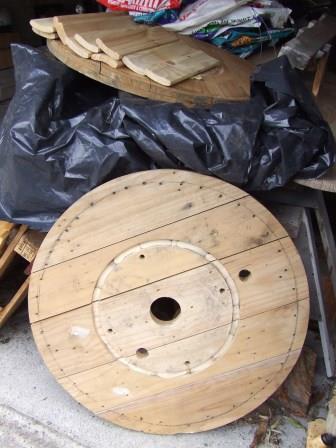 Deconstructed pinwheel