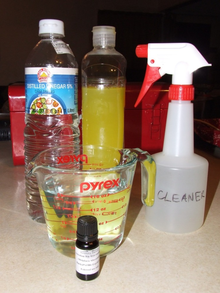 Things to make kitchen disinfectant