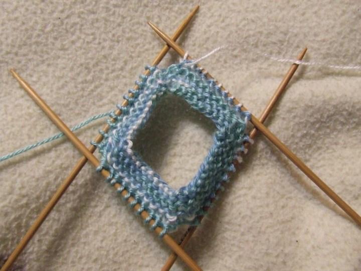 Knitting booties