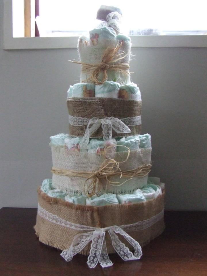 Nappy cake