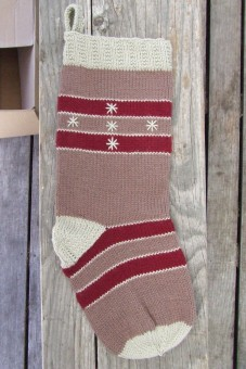 The Husband's Christmas stocking.
