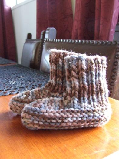 The Little Fulla's slippers.
