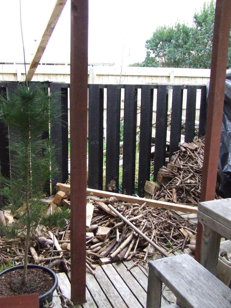 Firewood area