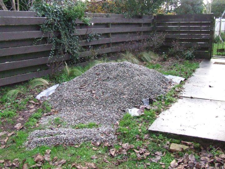 Stone pile