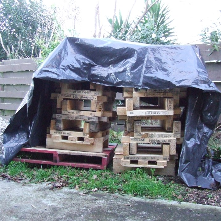 More chunky pallets.