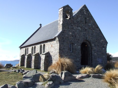 The Church of The Good Shepherd in Tekapo is always a stopping point.