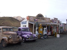 Stopping here, at Burke's Pass is essential. It's not just about fascinating old things to look at - it's a shop!