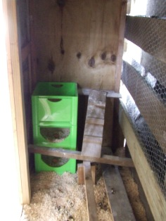 The nestbox end.