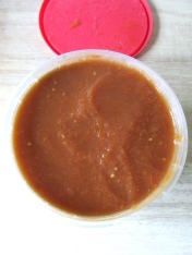 A lot of concentrated tomato soup was made.