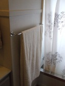 A new towel rail for The Little Fulla's towel.