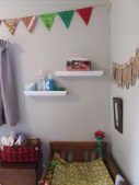 ... And these shelves in The Little Fulla's room.