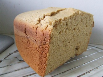 One of a few gluten-free bread recipes I made.