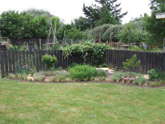 The Herb Garden earlier in 2017.