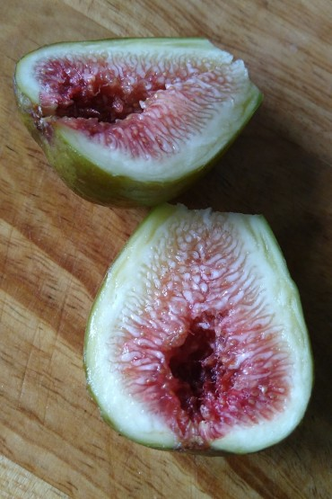 Fresh, soft, juicy figs have really grown on me.