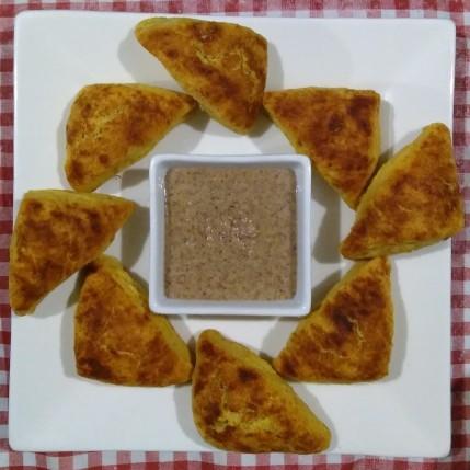 The pumpkin scones.