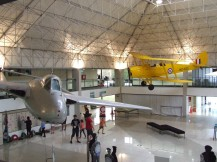 The Airforce Museum had all sorts of planes and related things on display and some that could be sat in and 'flown'.