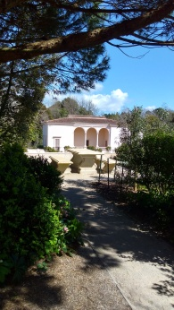 The Italian Renaissance Garden. I sat here.