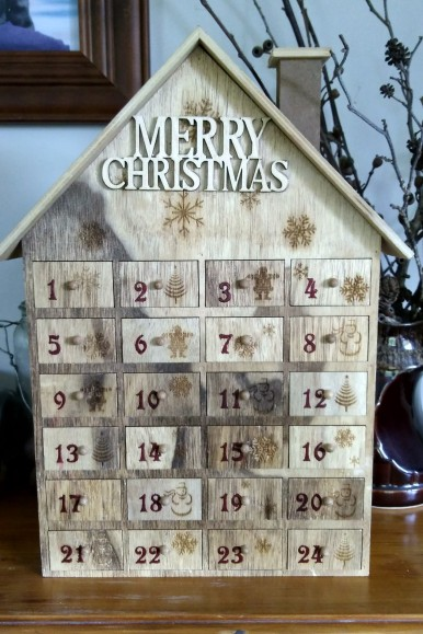 The advent calendar house has been a pivotal feature of our December mornings.