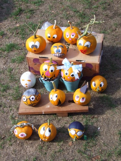 Little pumpkin characters.