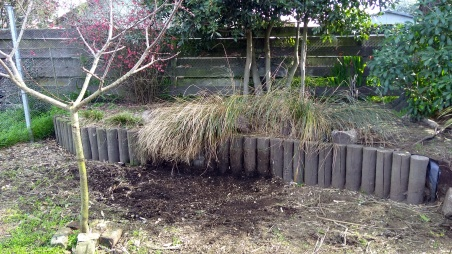 The Cedar Pen compost bin used to be over there...